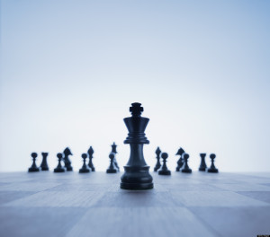 Chess Game with Focus on the King