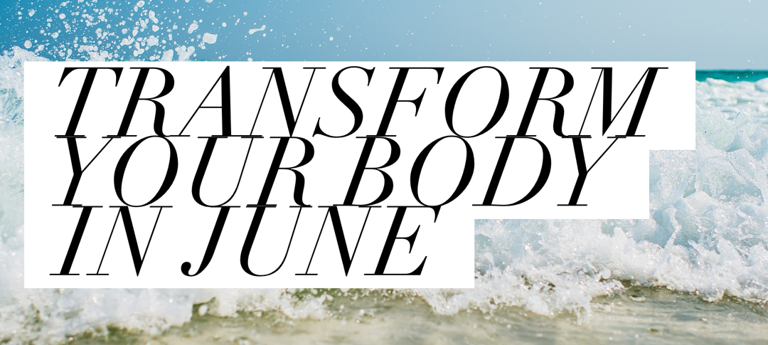 Who else wants to drop the booze for June and transform their body?