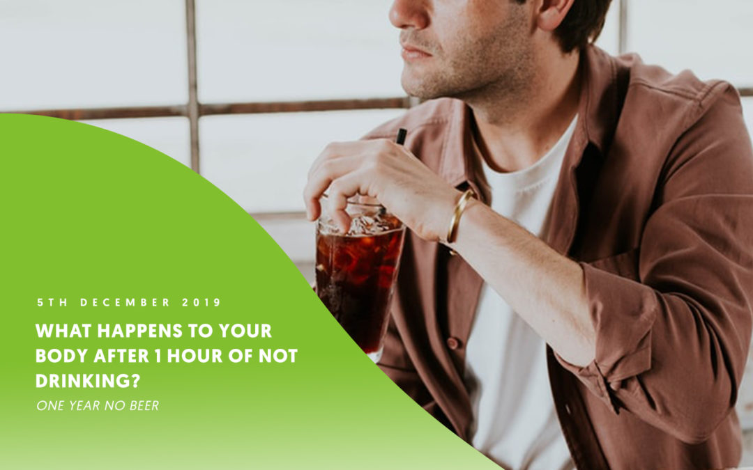 What happens to your body after 1 hour of not drinking? Or 7 days of not drinking?
