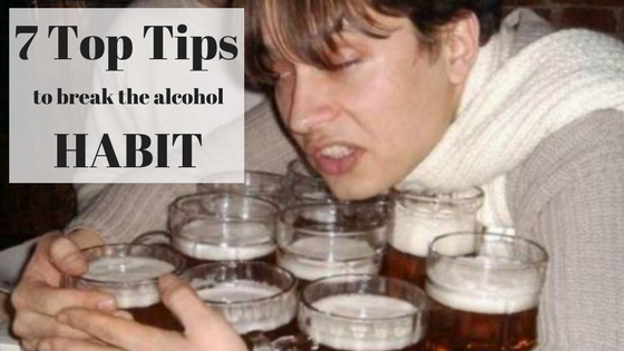 7 Top Tips to Bust the Alcohol Habit