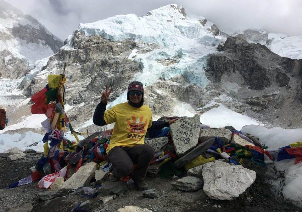 """""""I set myself a challenge – to trek to Everest Base Camp"""" – Emma Sebrof"""