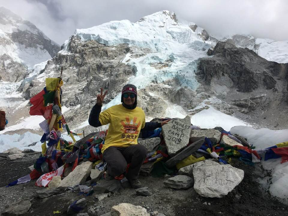 """I set myself a challenge – to trek to Everest Base Camp"" – Emma Sebrof"