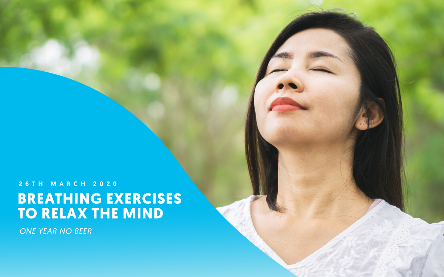 Breathing exercises to relax the mind
