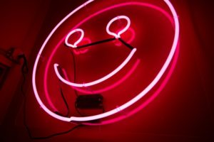 smiley face, reduced anxiety after quitting alcohol