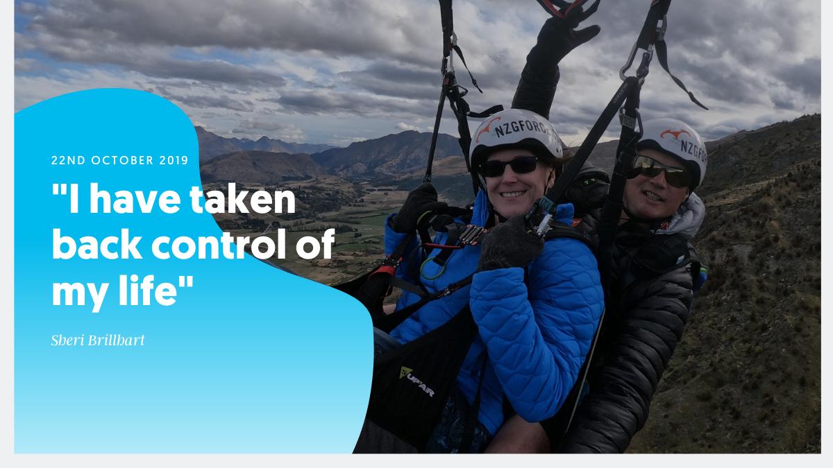 """I have taken back control of my life"" – Sheri Brillhart"