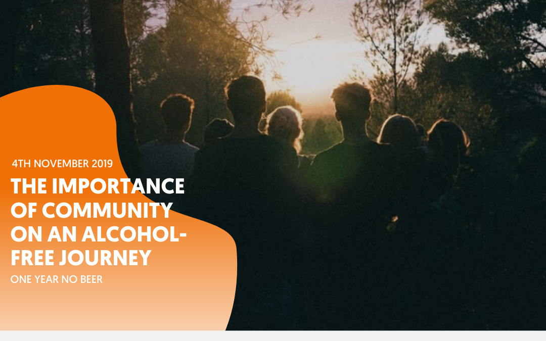 The importance of community on an alcohol-free journey – by Rhona Reid
