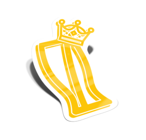 OYNB pint logo with crown