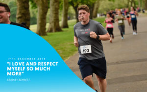 man running after quitting alcohol