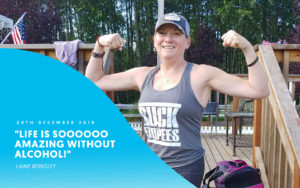 woman stronger after alcohol-free challenge