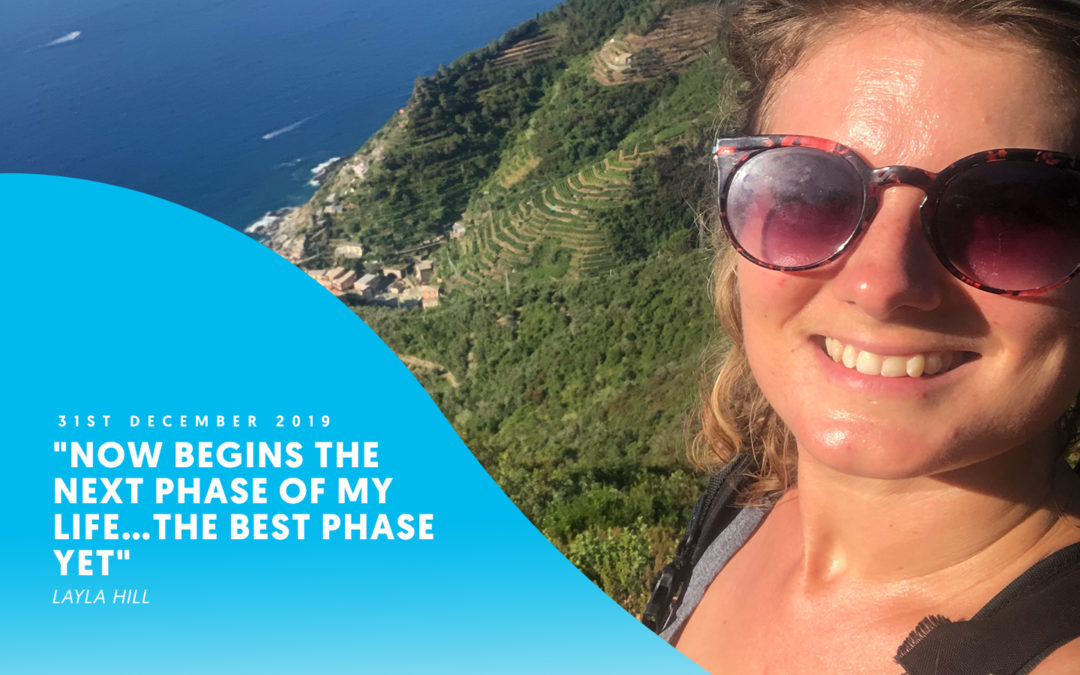 """Now begins the next phase of my life…the best phase yet"" – Layla Hill"