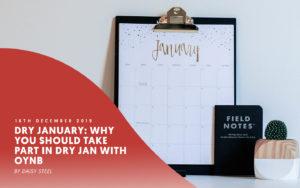 dry january on calendar