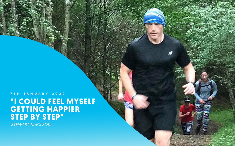 """I could feel myself getting happier step by step"" – Stewart Macleod"