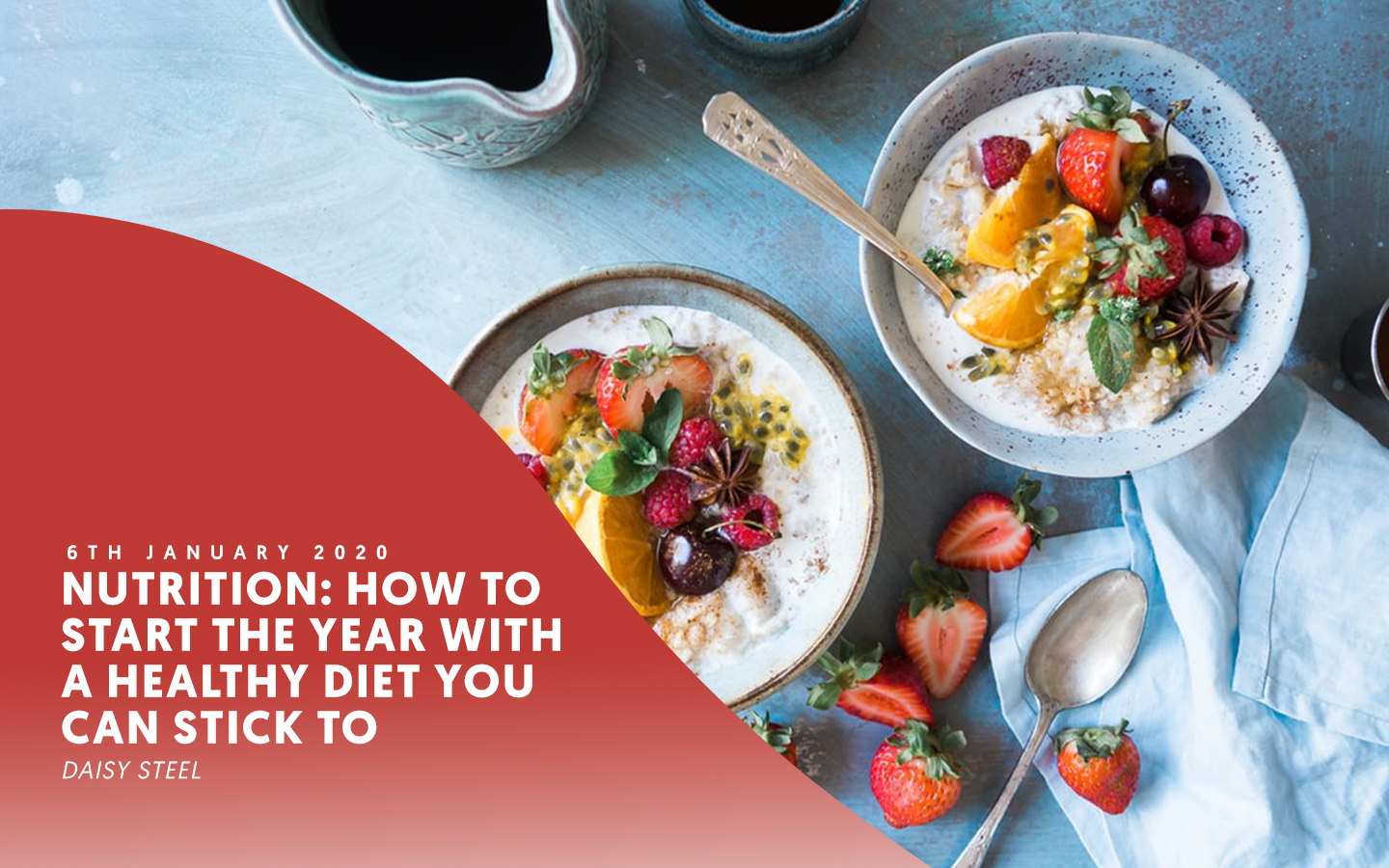 Nutrition: How to start the year with a healthy diet you can stick to – by Daisy Steel
