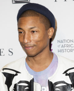 Pharell Williams doesn't drink