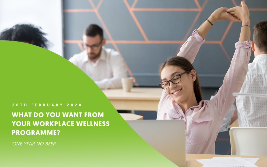 What do you want from your workplace wellness programme? – Ali Roff