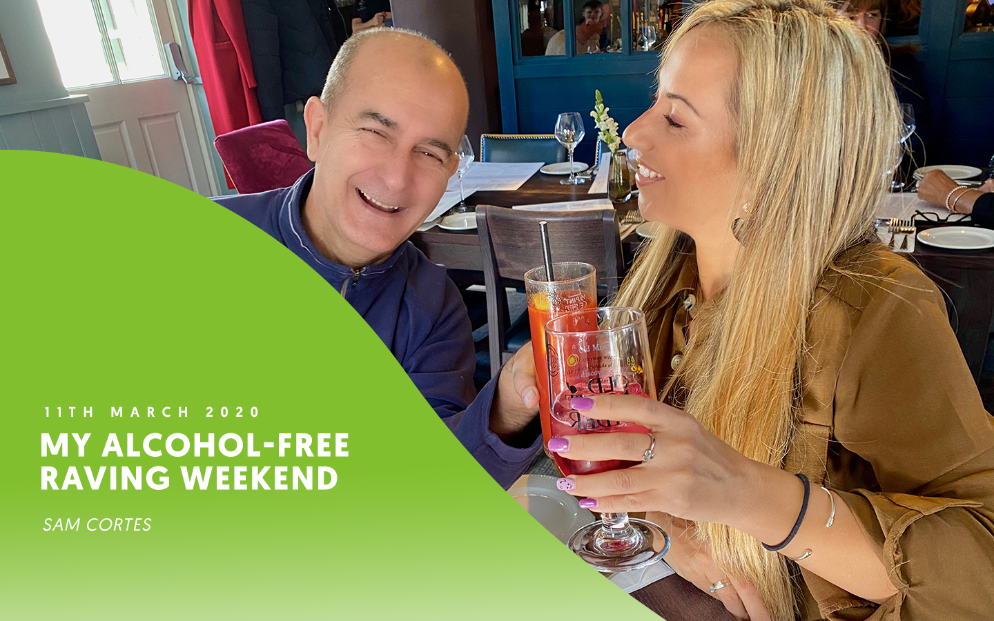 My alcohol-free raving weekend – by Sam Cortes