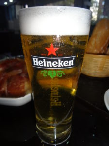 how many calories in a pint of Heineken