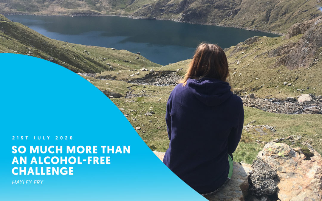 """So much more than an alcohol-free challenge"" – Hayley Fry"
