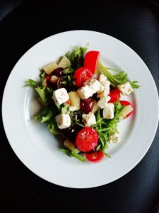 healthy balanced meal