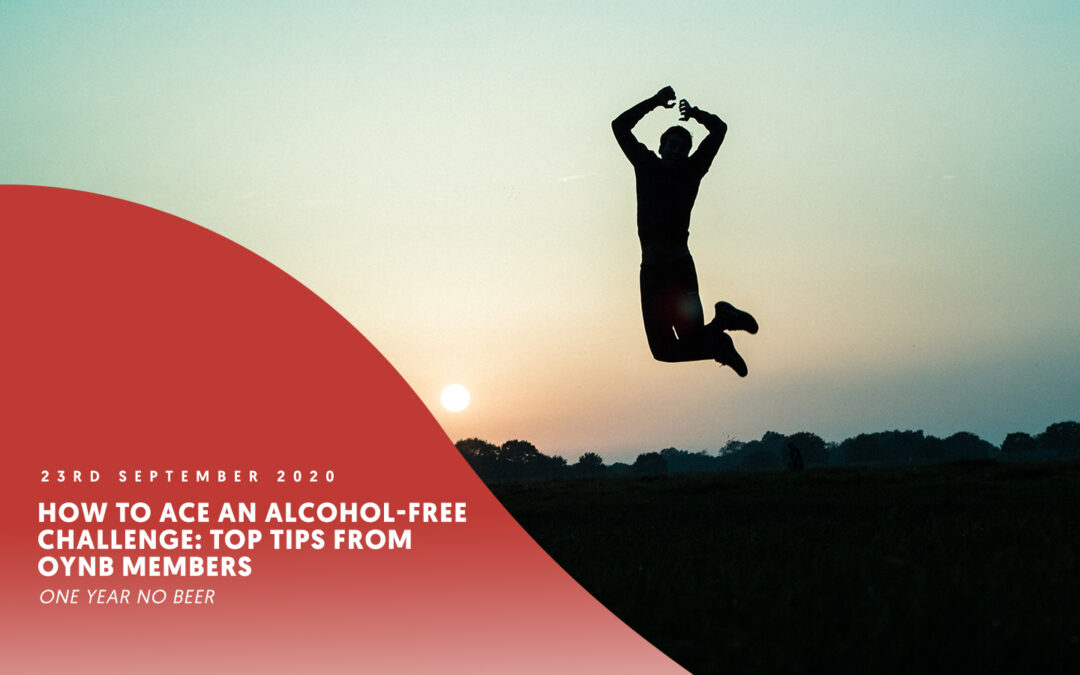 How to ace an alcohol-free challenge: Top tips from OYNB members