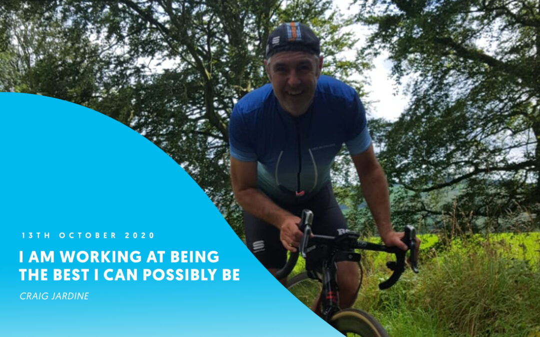 I am working at being the best I can possibly be – Craig Jardine