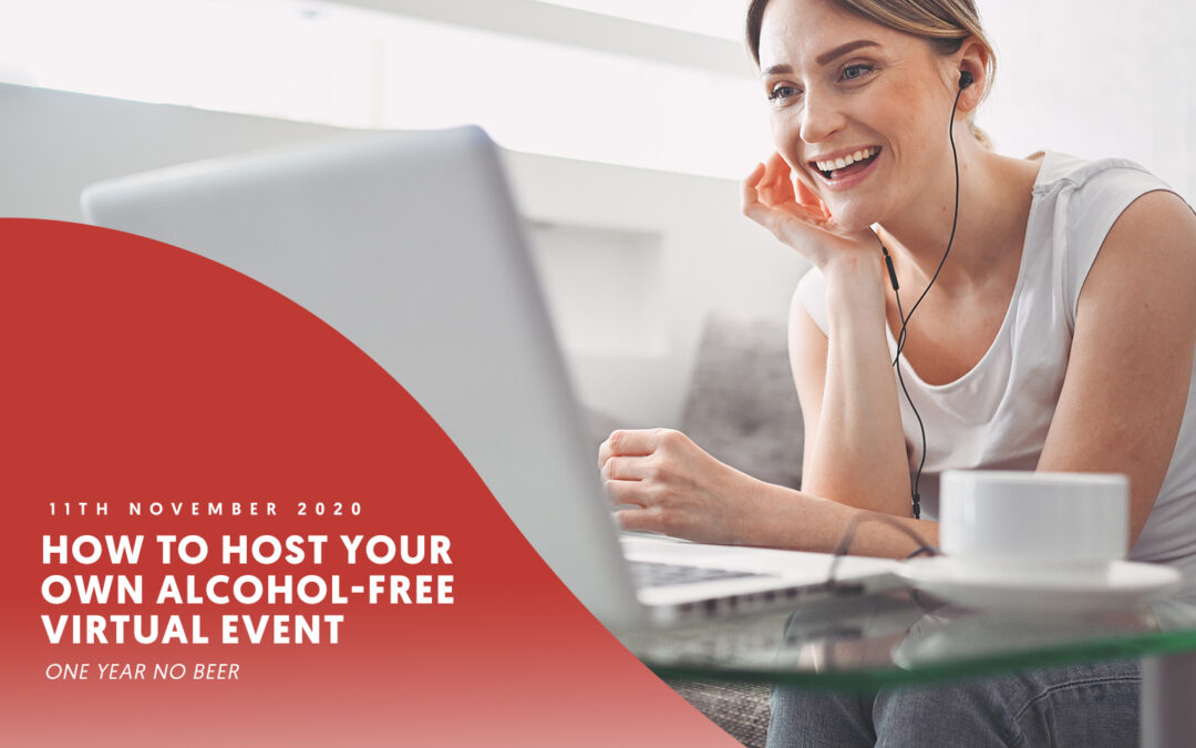 How to host your own alcohol-free virtual event